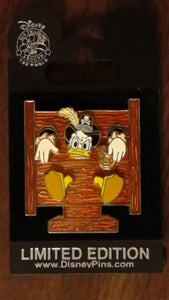 Pin 47669 DLR - Pirates of the Caribbean - Golden Mickey Icon Collection - Donald Duck