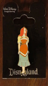Pin 110441 WDI - Jessica Rabbit in Disneyland Attraction Costumes - Market House