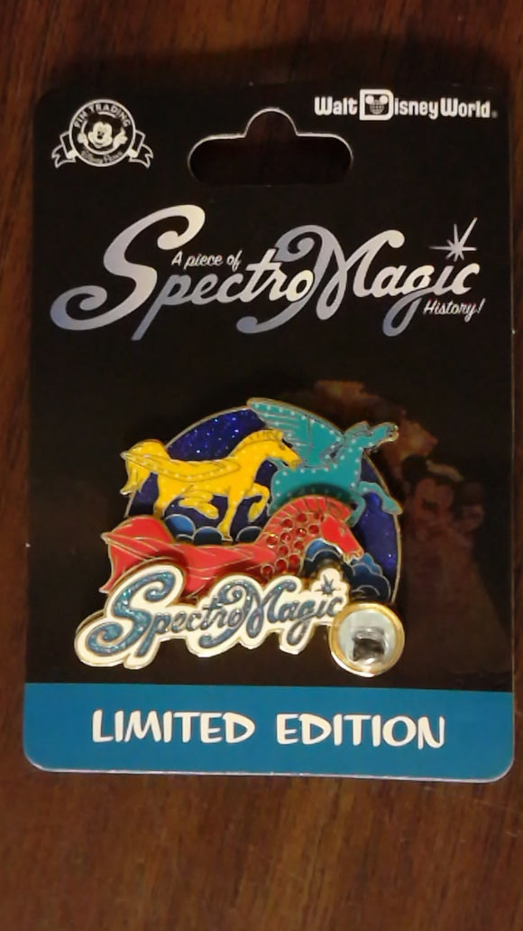 Pin 103385 WDW - Piece of Disney History 2014 - SpectroMagic - Fantasia Pegasus