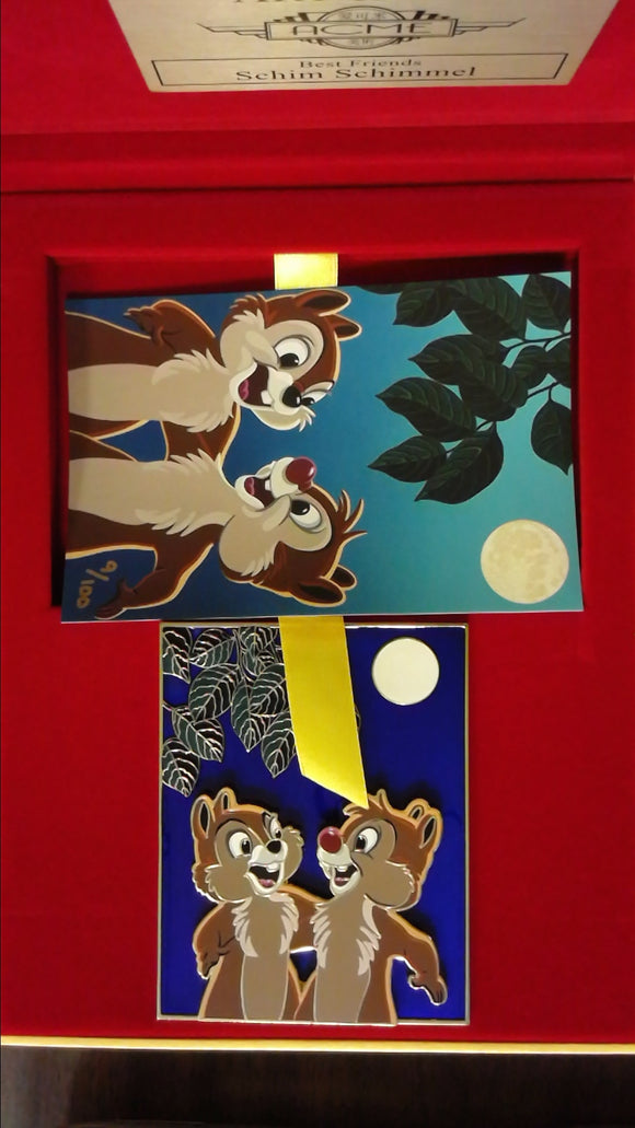 Pin 114790 ACME - Artist Series - Chip and Dale - Best Friends