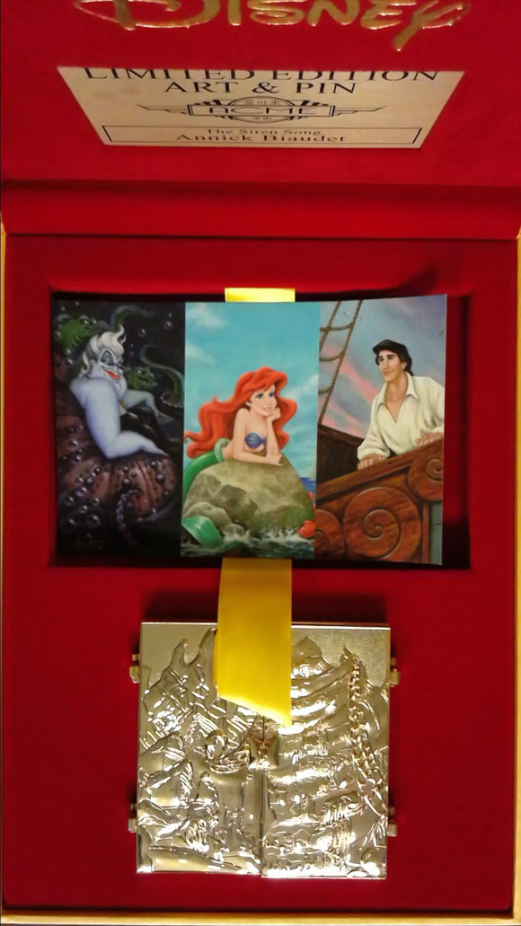 Pin 124901 ACME/HotArt - Tryptich Series - The Little Mermaid Siren Song