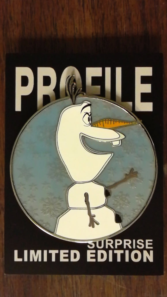 Olaf Frozen Fantasy Profile Pin