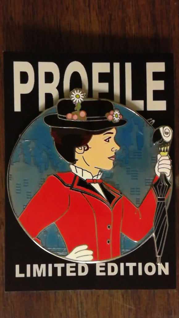 Mary Poppins Fantasy Profile Pin