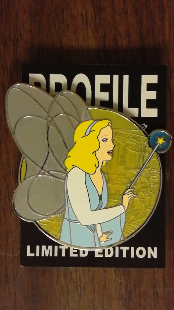 Blue Fairy Fantasy Profile Pin