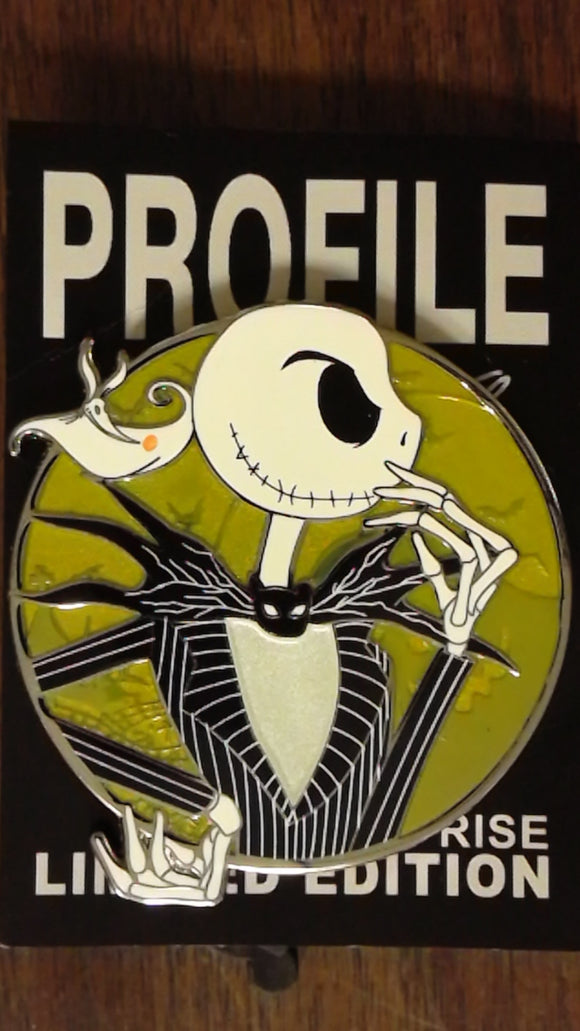 Jack Skellington Fantasy Profile Pin