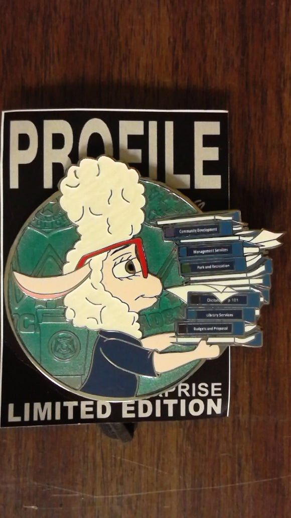 Bellweather Fantasy Profile Pin