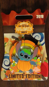 Pin 129953 MNSSHP 2018 - Stitch as a pumpkin