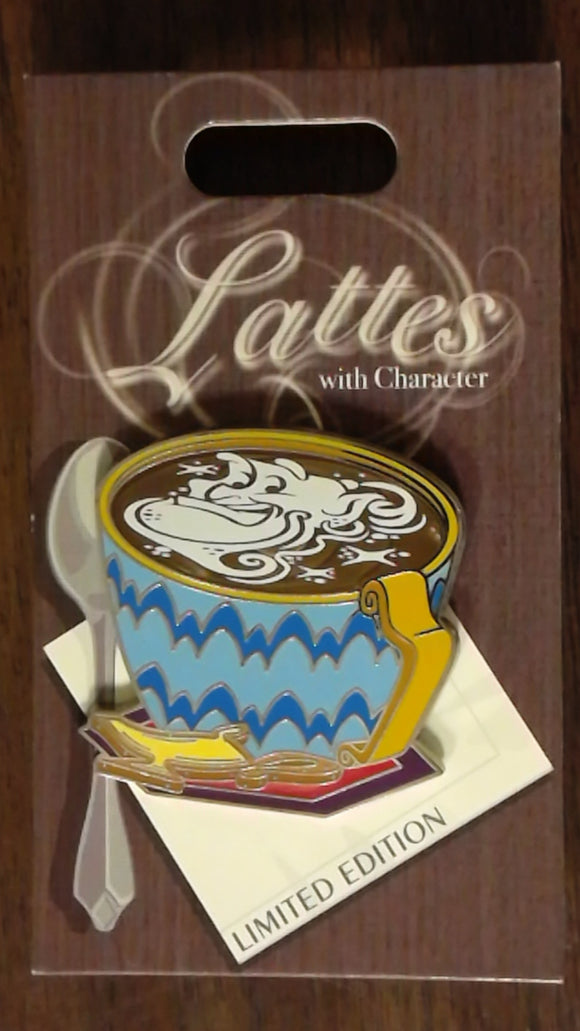 Pin 127353 Lattes With Character - Genie