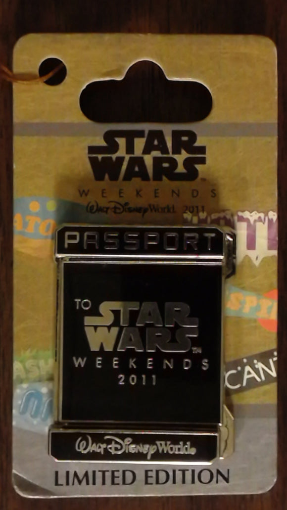 Pin 84583 WDW - Star Wars Weekends 2011 - Passport - Yoda