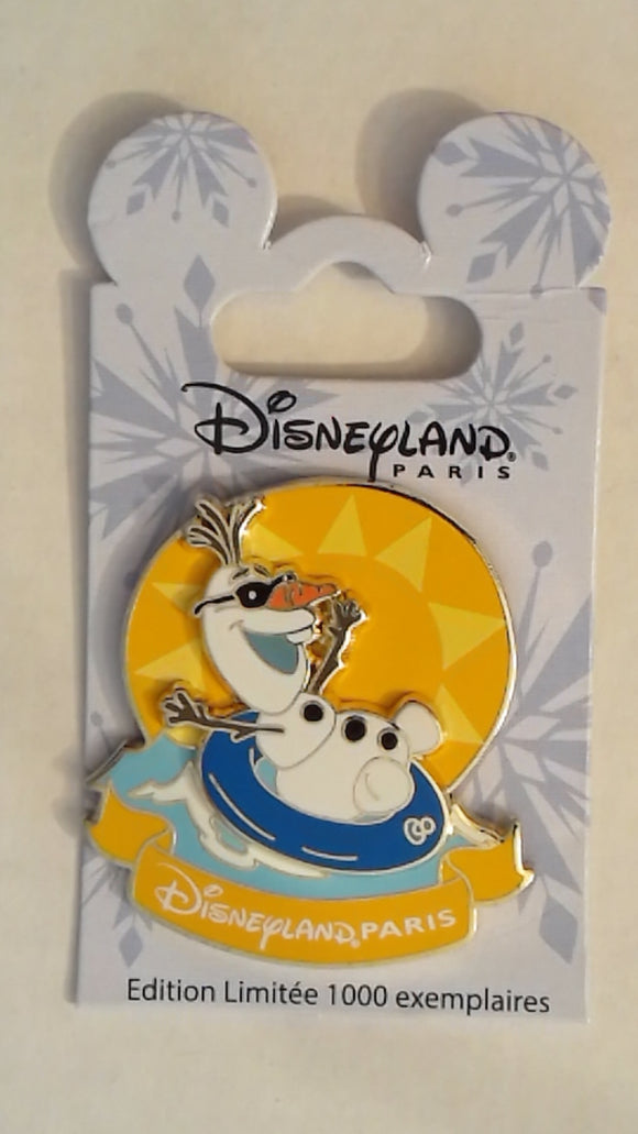 Pin 109578 DLP - Olaf on innertube