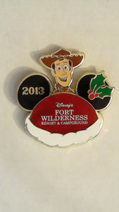Pin 98917 WDW - Happy Holidays 2013 – Disney's Fort Wilderness Resort