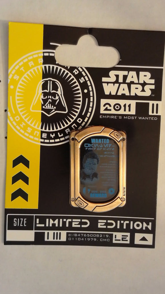 Pin 83315 DLR - Sci-Fi Academy - Star Wars - Empire's Most Wanted - Lando Calrissian