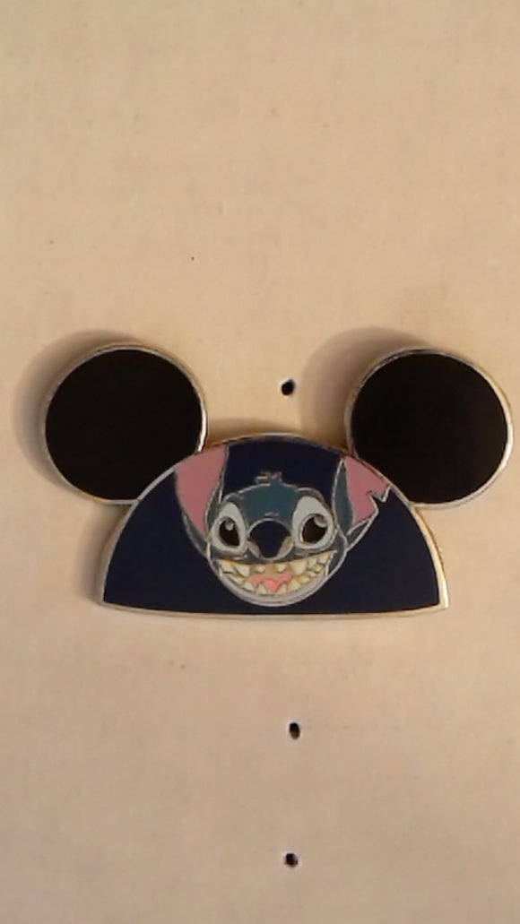 Pin 65847 WDW - Character Ear Hats - Mystery Pin Collection (Stitch Only)