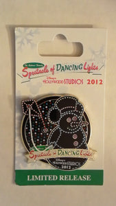 Pin 93446 WDW - Osborne Family Spectacle of Dancing Lights 2012 - Snowman Mickey