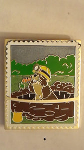 Pin 82768 Pin Trading Stamp Collection - Pooh's Head - Gopher