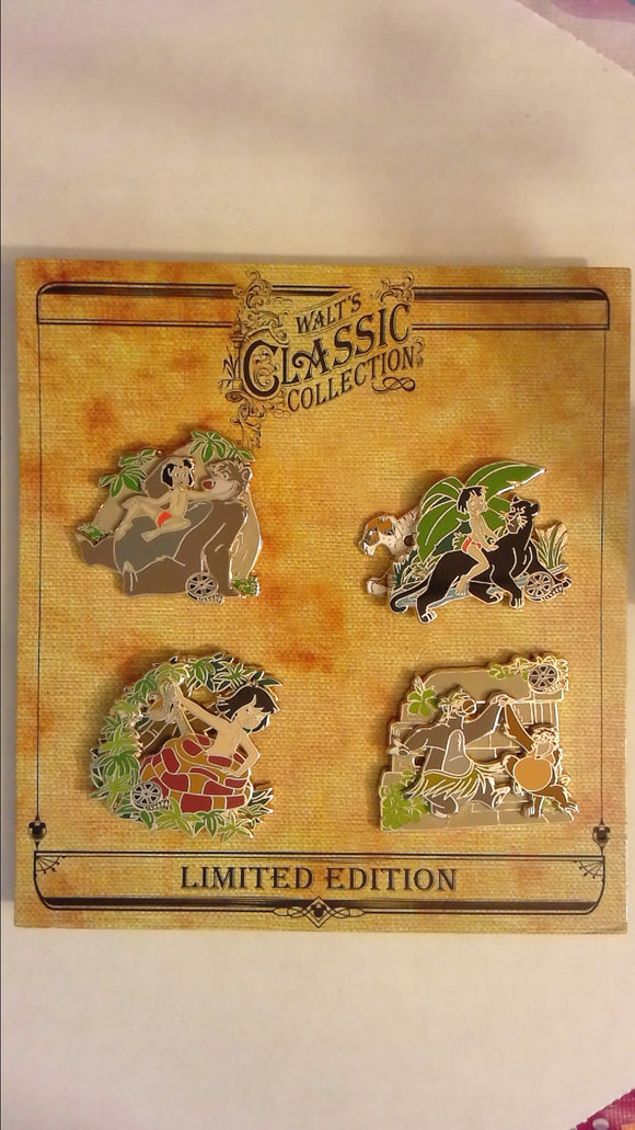 Pin 81202 Walt's Classic Collection - The Jungle Book