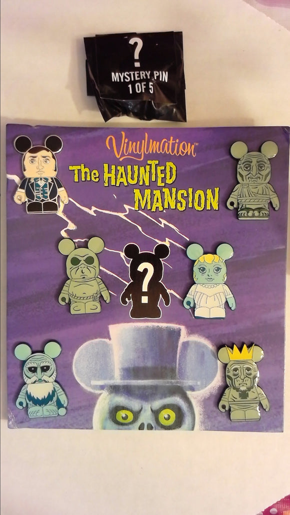 Pin 86808 Vinylmation(TM) Collectors Set - Haunted Mansion