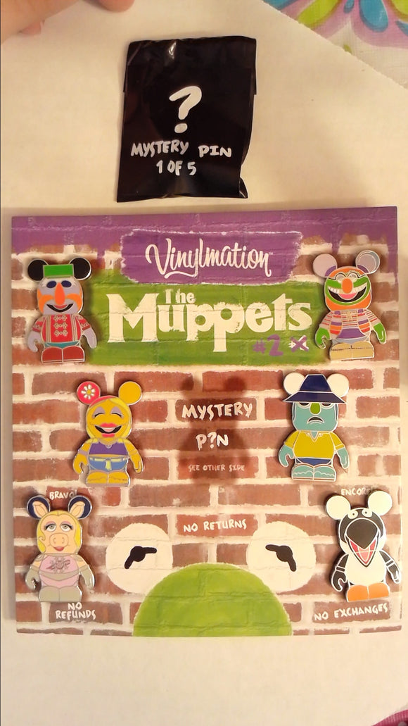 Pin 89566 Vinylmation(TM) Collectors Set - Muppets #2