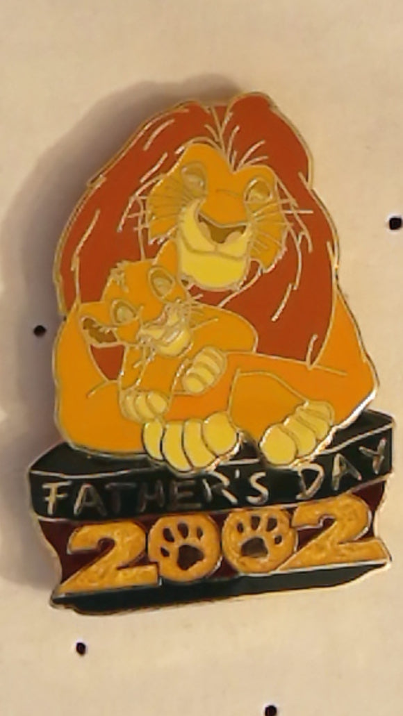 Pin 10969 WDW - Father's Day 2002 (Mufasa & Simba)
