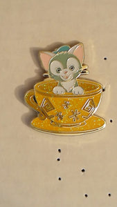 Pin 124456 HKDL - Magic Access - Mad Hatter Tea Cup - Mystery - Gelatoni