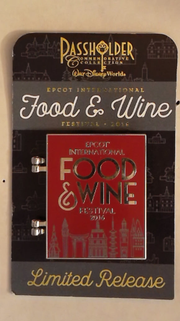 Pin 117705 WDW - Annual Passholder - Food & Wine Festival 2016: Figment Chef