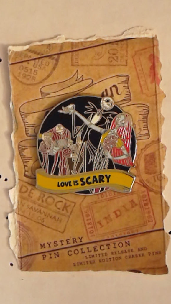 Pin 123739 WDW - Love is An Adventure Mystery Collection - Jack and Sally