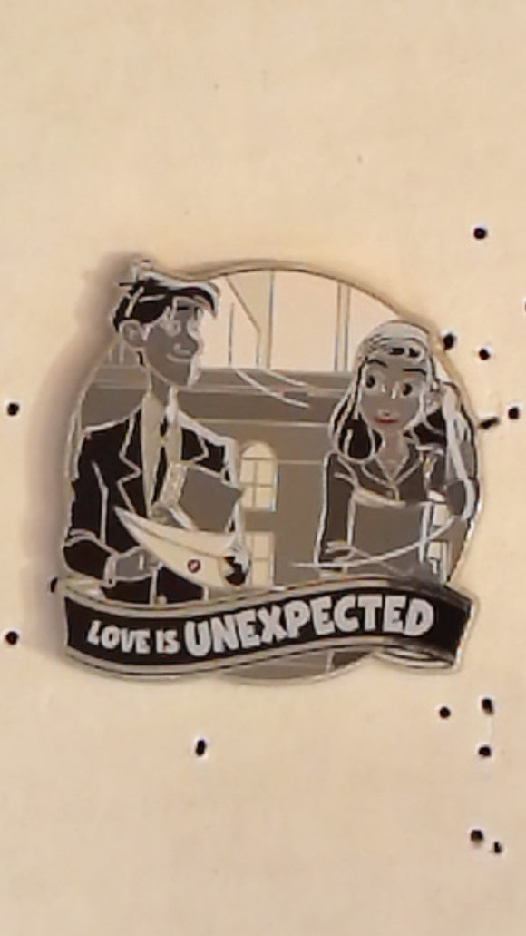 Pin 123740 WDW - Love is An Adventure Mystery Collection - Paperman