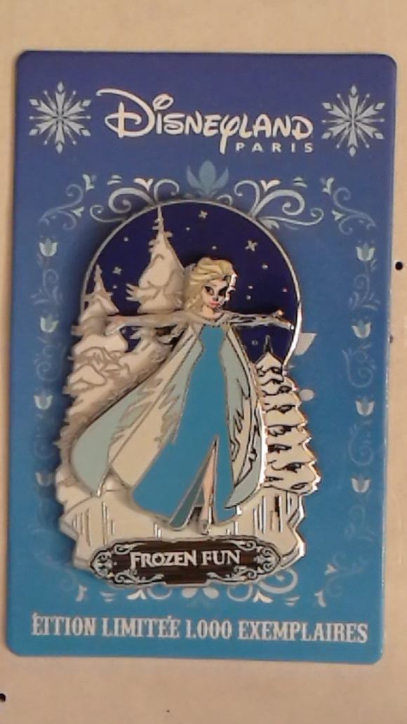 Pin 109917 DLP - Pin Trading Day Frozen Summer 2015 (Elsa)