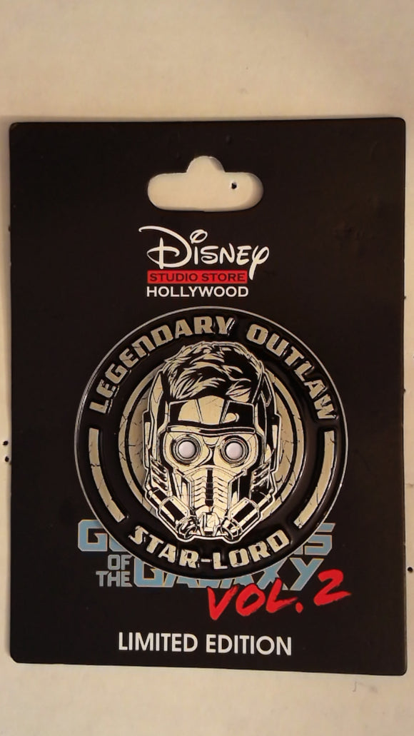 Pin 122629 DSSH: Guardians of The Galaxy 2 - Star Lord Legendary Outlaw Pin