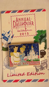 Pin 107768 2015 WDW Annual Passholder - Magic Kingdom