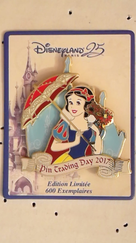 Pin 124468 DLP - Pin Trading Day - 25th Anniversary - Snow White