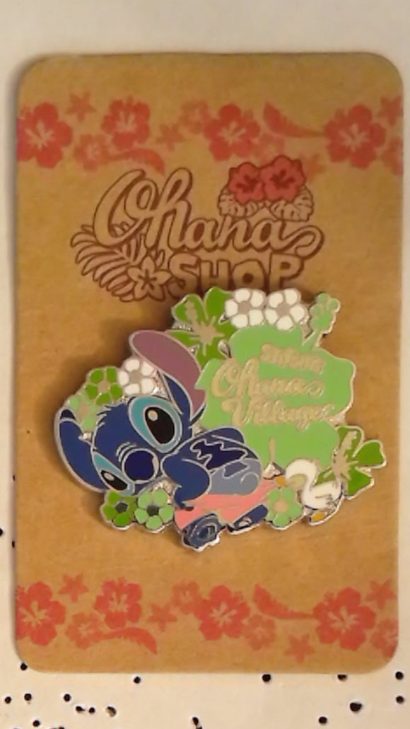 Pin 61467 JDS - STITCH'S Ohana Village (Stitch with Duckling)