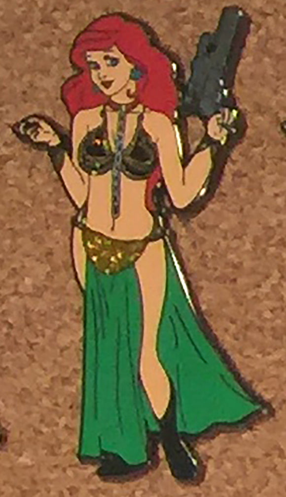 Ariel as Slave Leia from Star Wars LE100
