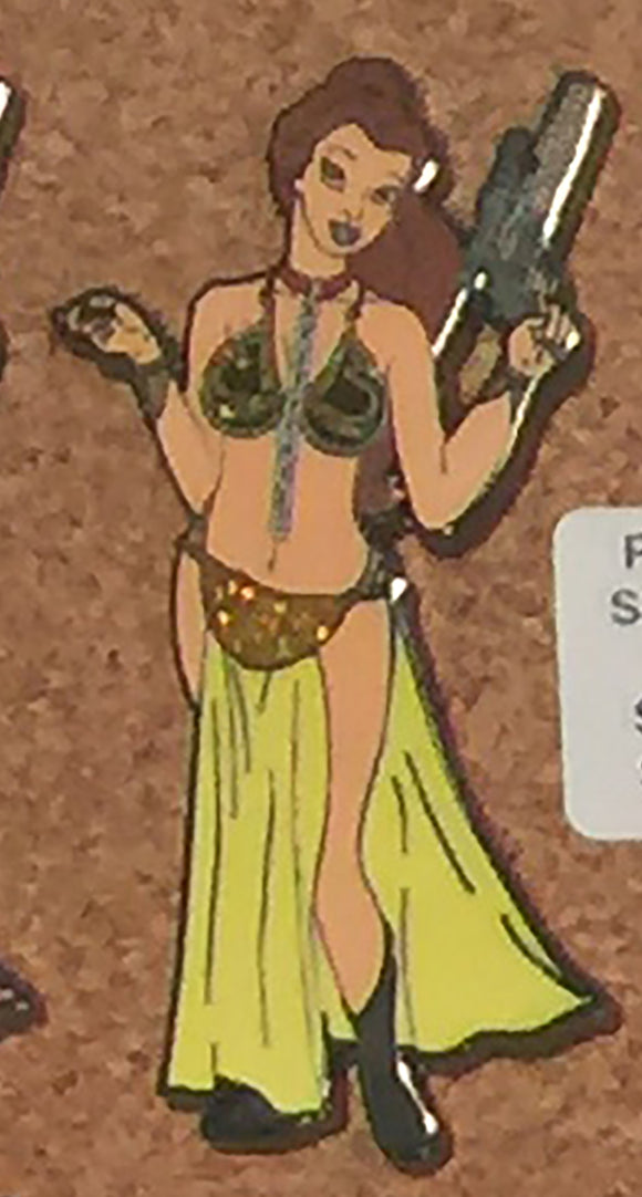 Belle as Slave Leia from Star Wars LE100