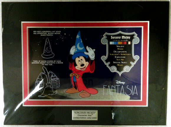 ACME Sorcerer Mickey Character Key Cell