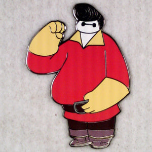 BayMax from Big Hero 6 as Gaston from Beauty & the Beast LE100