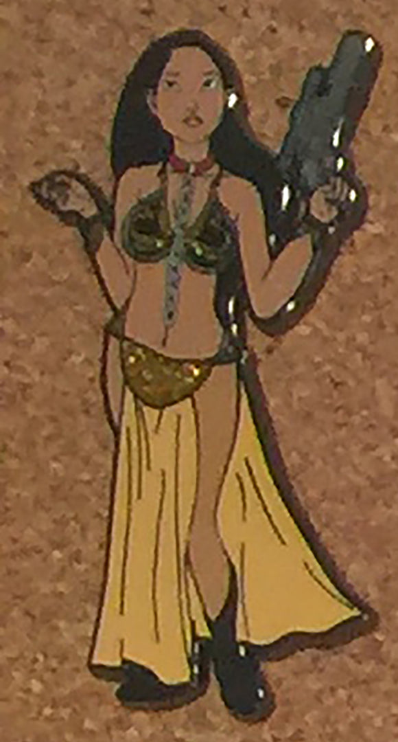Pocahontas as Slave Leia from Star Wars LE100