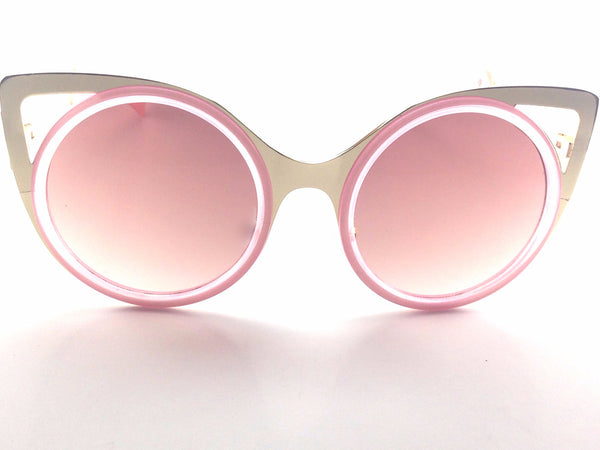 Pink Panther Sunglasses Round Cat Eye