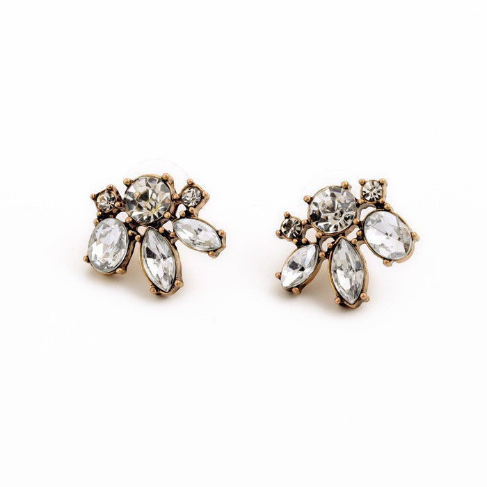 Very Berry Stud Earrings - Earrings - Top Layer Boutique