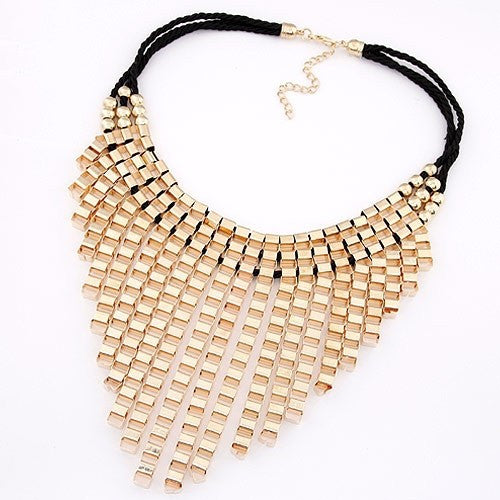 Raindrops Statement Necklace