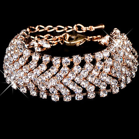 Chevron Bling - Bracelet - Top Layer Boutique