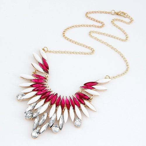 Fire & Ice Statement Necklace