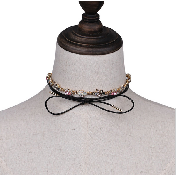 Secret Garden Choker - Necklace - Top Layer Boutique
