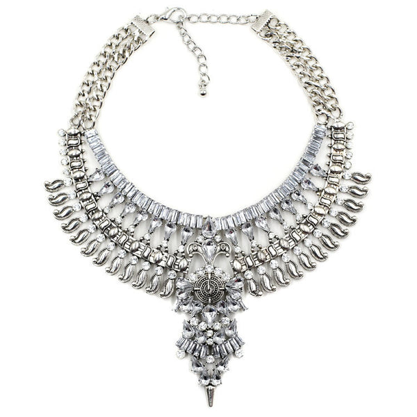 Queen Bling Statement Necklace