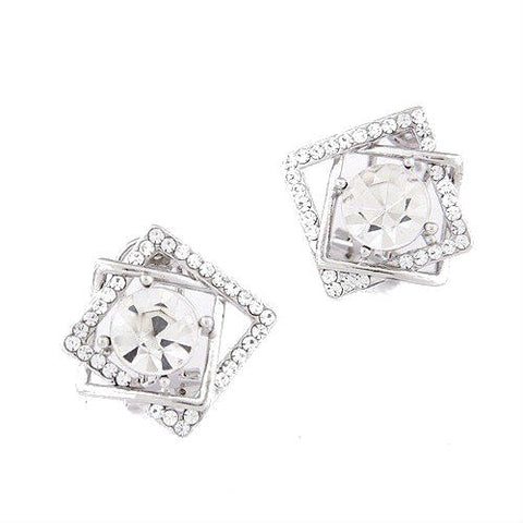 Squared Away Stud Earrings