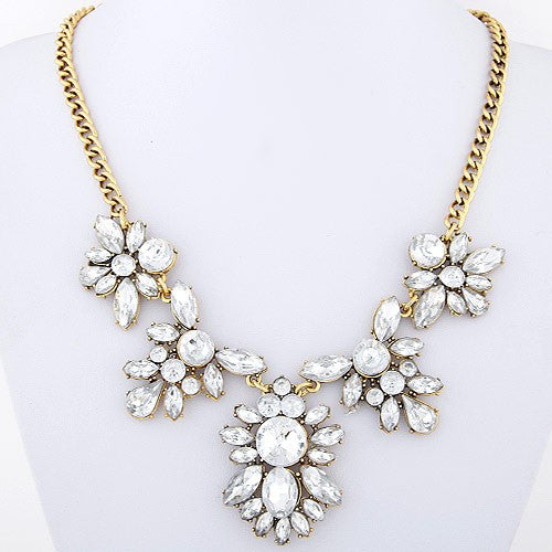 Gracious Bouquet Statement Necklace