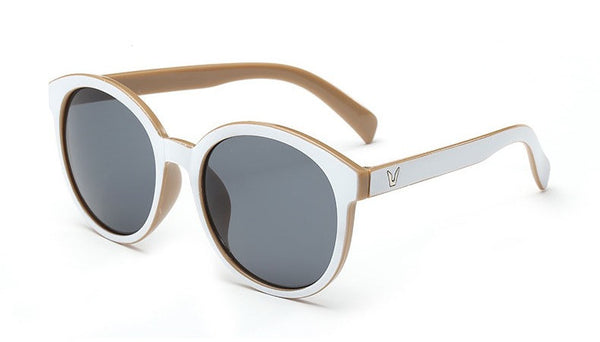 Retro White Out Sunglasses - Sunglasses - Top Layer Boutique