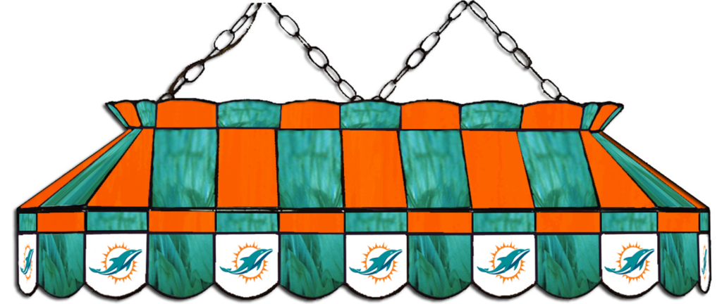 Miami Dolphins Pool Table Lights