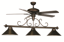 Ceiling Fan Pool Table Lights