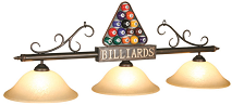 Billiard Balls Pool Table Lights